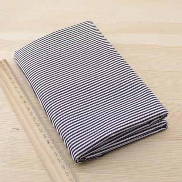 Kain katun Booksew 7 pcs 50 cm x 50 cm Hitam jaringan Tekstil untuk - Seni, kerajinan dan menjahit - Foto 6