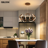 LED Pendant Lights For Kitchen Aluminum Silica Suspension Hanging Cord Lamp Dinning Room Lamparas New Fixtur