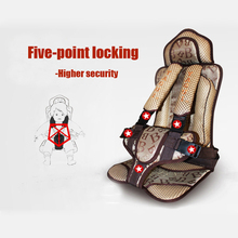 High quality travel kids car seat Safety baby Sponge Protect portable car seat for children car-styling 9-40KG car covers BA022