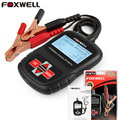 100%Original FOXWELL BT100 Pro 12V Car Battery Analyzer Tester Multi-language Car Tools for Flooded AGM GEL Free shipping