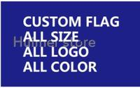 Custom gift flag 4x6ft 120x180cm double side Polyester design any logo color business,hospital,sport,hobby,car motorcycle banner