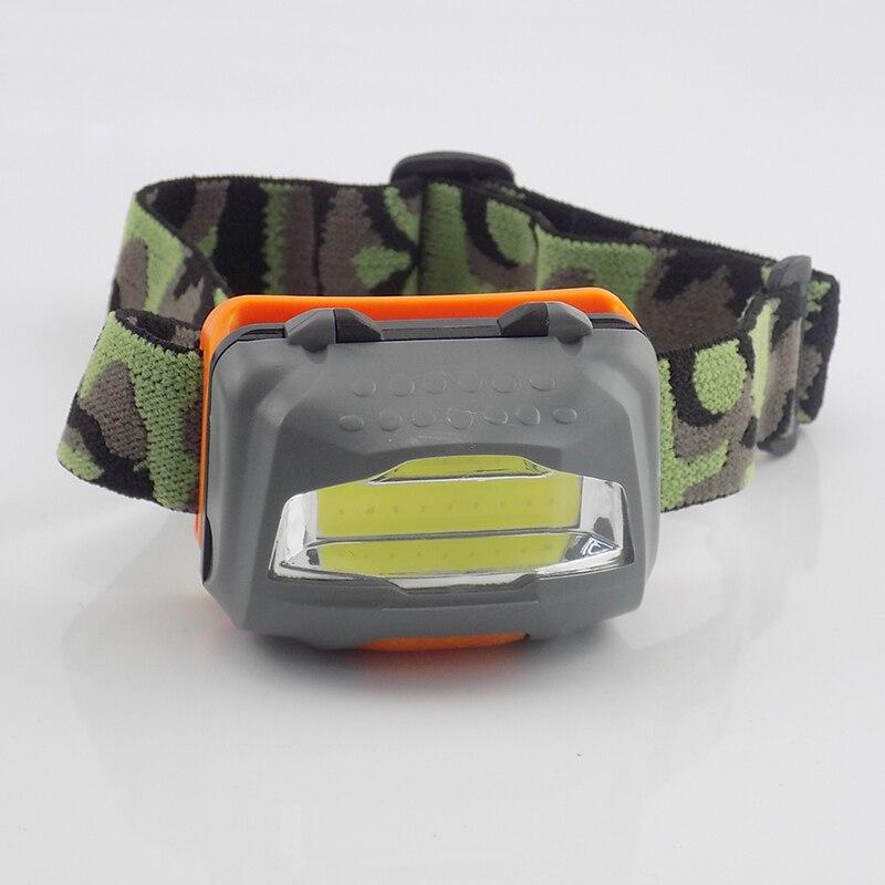 Powerful Head Flashlight Headlamp Mini COB High Power Lampe Frontal Frontale Led Camping Head Light Torch Fishing Hunting