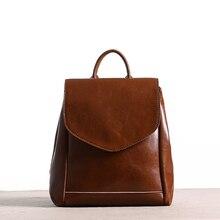 Новинка 2017 года оригинальные дизайнерские модные женские Back Pack кожи маленькие женщины кожаный рюкзак для школы сумка Mochilas Mujer