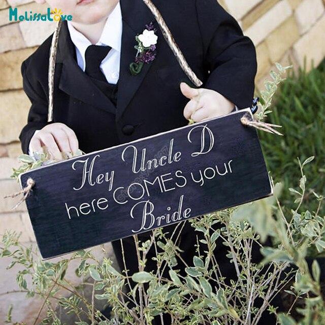 Hey Uncle Here Comes Your Bride Funny Wedding Decal Board Chalkboard Decor Sticker Diy Reception
