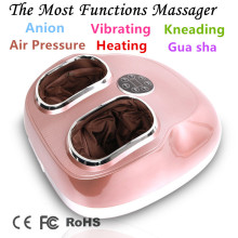 Automatic Anion Foot Massage Machine Vibration Full Wrap Kneading Foot Massager heating feet guasha negative ion masseur foot massage machine household automatic foot soles multi functional acupuncture points kneading massage foot heel