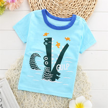 Short Sleeve Kids Cartoon T Shirt