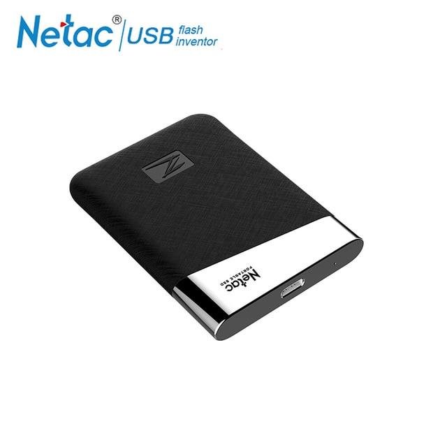 Netac Z6 SSD USB 3.1 Tipi C 240 GB 480 GB 960 GB 1.8 inç Yüksek Hızlı Taşınabilir Harici katı hal diski dizüstü masaüstü için