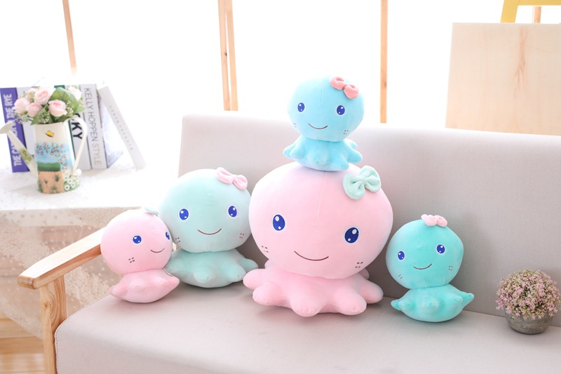 20-35cm 2 Colors Octopus Plush Toy Cute Fish Doll Gift Kids Children Girl Baby Toy Kawaii Soft Good Quality stuffed toy
