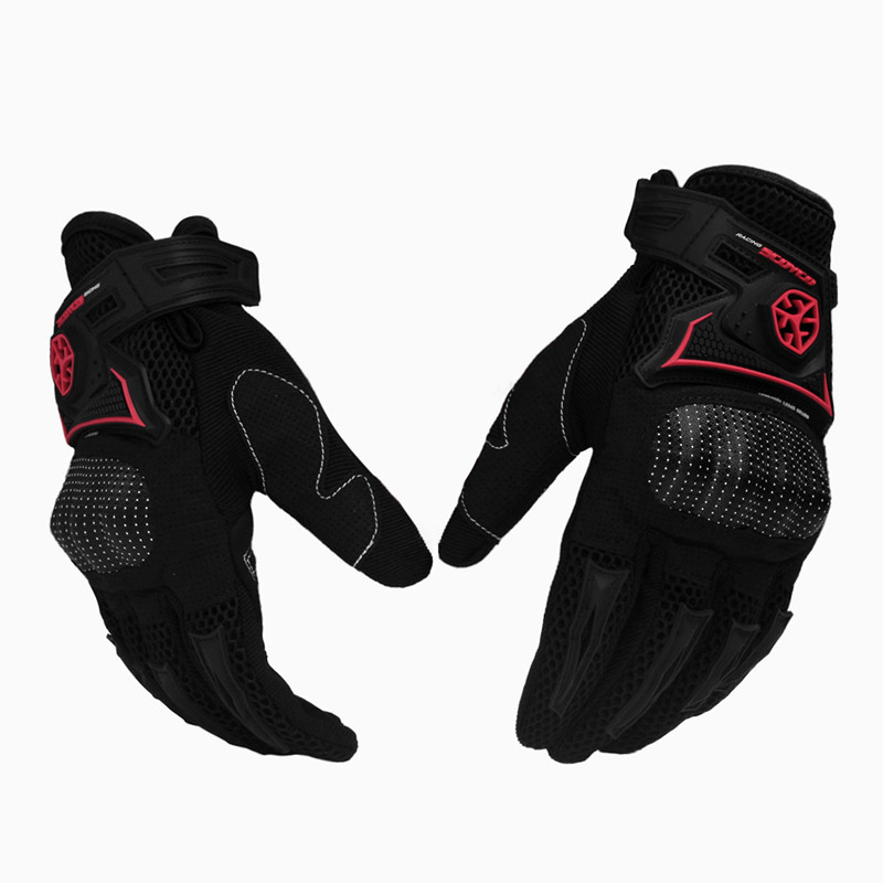 New 2015 Brand Carbon Fiber Motorcycle Gloves Breathable Motocross Racing Motorbike Cycling Gloves luva moto guantes