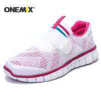 Onemix 2017 Summer Super Light Women Running Shoes Cool Athletic Shoes Breathable Sport Shoe For Women