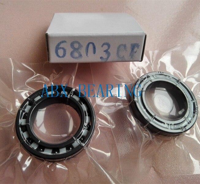 6803 full SI3N4 ceramic deep groove ball bearing 17x26x5mm 61803 bearing 6901 2rs full si3n4 ceramic deep groove ball bearing 12x24x6mm 6901 2rs