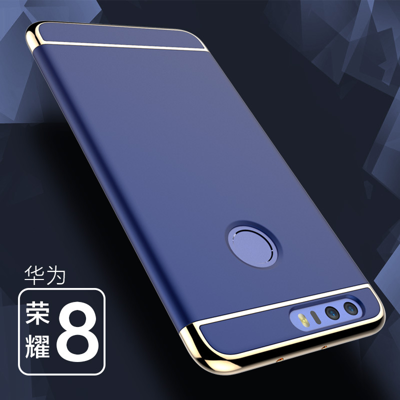 Case For Huawei Honor8 luxury Hard PC <font><b>3</b></font> in 1 Back Cover Full Protection For Huawei Honor <font><b>8</b></font> Cases Mobile phone Accessories