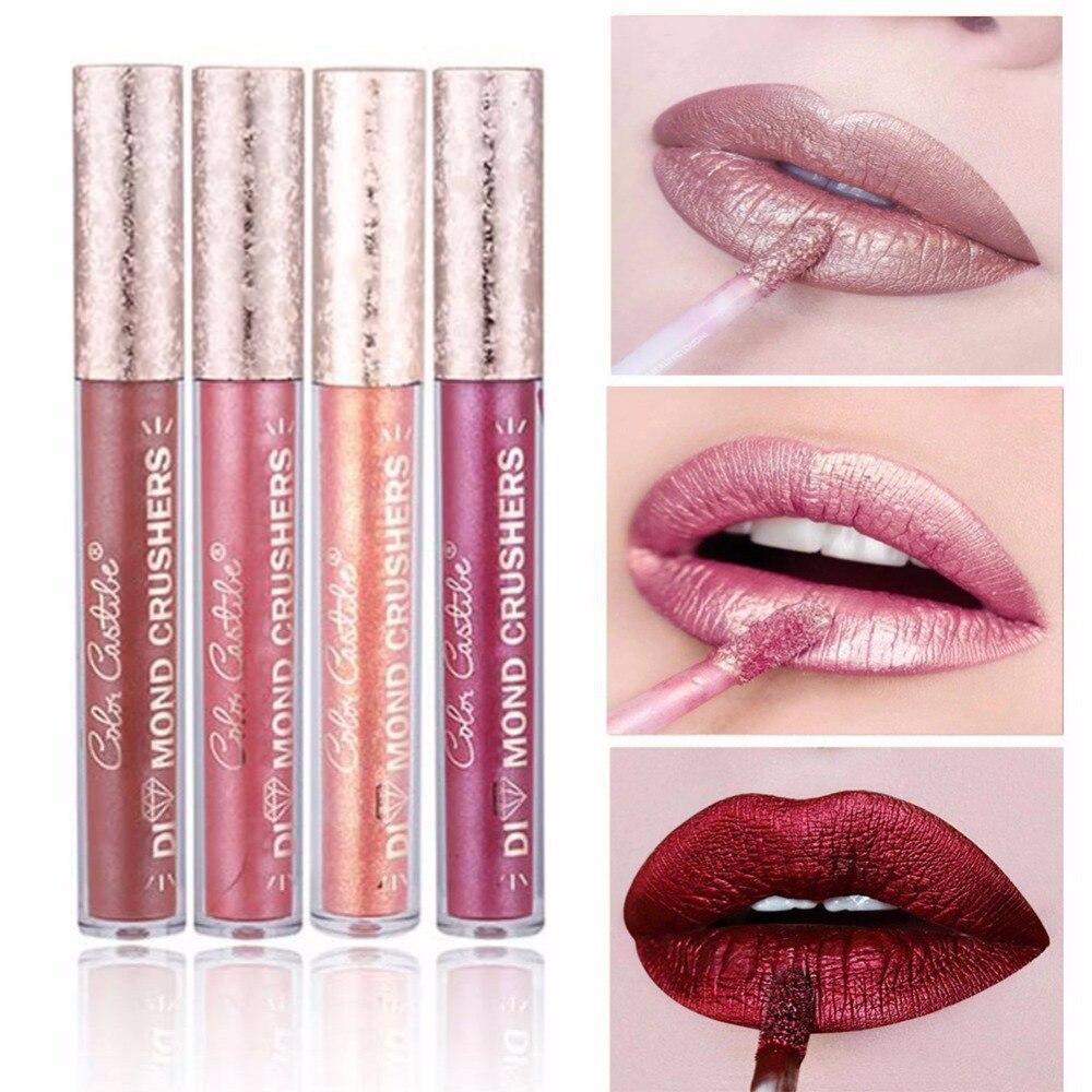 16 Colors Sexy Colors Matte Lipstick Waterproof Lasting Matter Shimmer Liquid Lipstick Lip Gloss Cosmetic