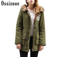 Winter Warm Coat Women Long Parkas Fashion Faux Fur Hooded Women Overcoat Casual Cotton Padded Jacket Mutil Colors Slim female