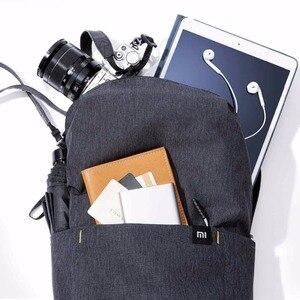 Image 5 - الأصلي شاومي حقيبة الكتف 10L165g حقيبة الصدر الرياضية غير رسمية مناسبة للرجال/النساء حجم صغير حقيبة الكتف حقيبة ملونة
