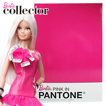 Barbie Doll Limited Collector Edition Barbie Pink IN Pantone W3376 Girls Toy Best Christmas Birthday Gift Free Shipping