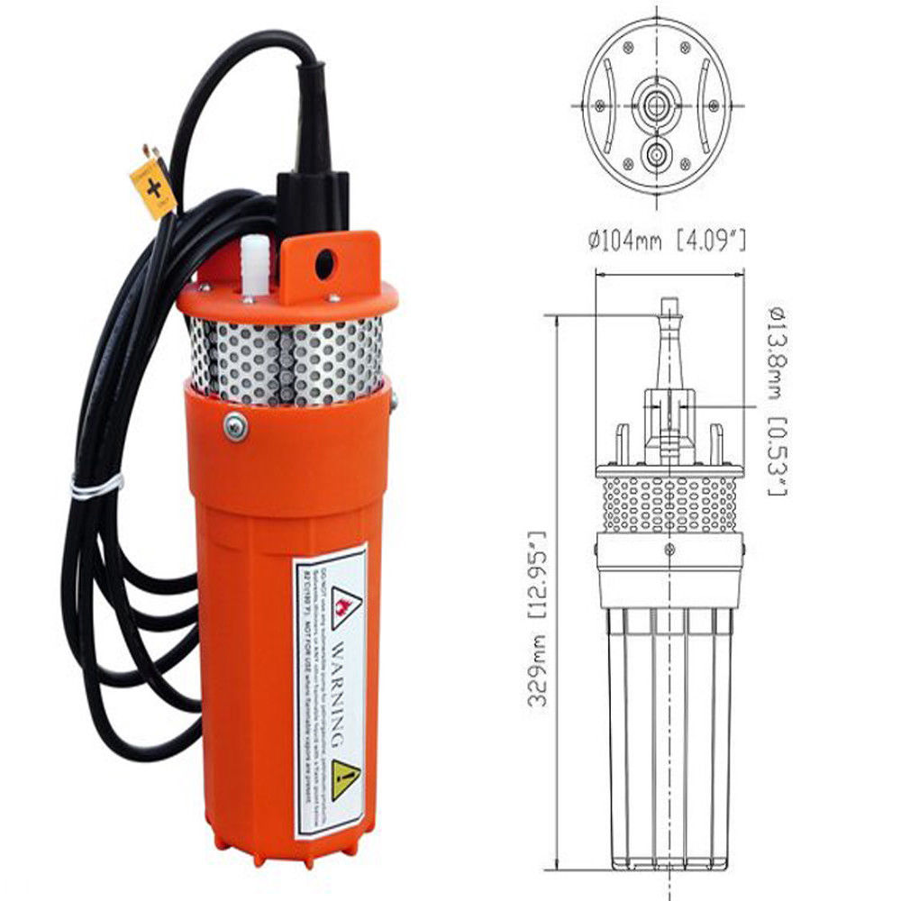 Hot Sale Stainless Strainer Submersible 12V DC Solar Well Pump Water Pump 50mm 2 inch deep well submersible water pump deep well water pump 220v screw submersible water pump for home 2 inch well pump