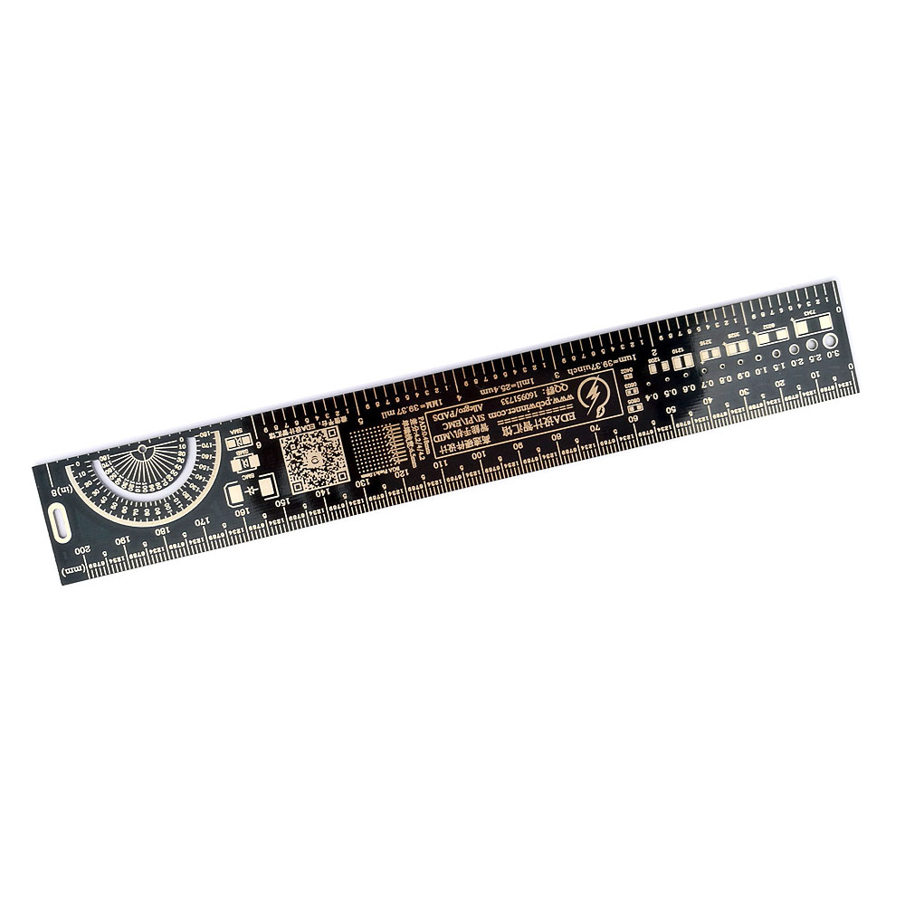 Image 3 - 10 шт. многофункциональная линейка PCB EDA измерительный инструмент Высокая точность транспортир 20 см черныйtool ionprotractor angletool money  АлиЭкспресс