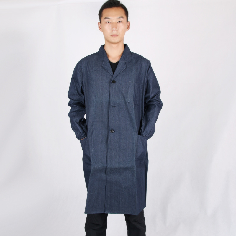 Dust-proof Warehouse Worker Jacket Coveralls Labor Security Protection Worker Clothes Worker Security Uniform Men Coat