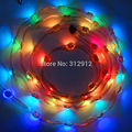 50mm pitch IP68 WS2812B LED smart light;addressable;rgb full color;DC5V input;40pcs a string