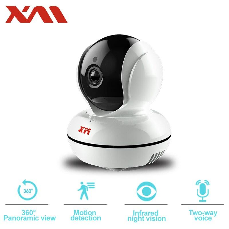 XM 360 Vue Panoramique 1080 P HD IP Caméra bidirectionnelle Voix Night Vision Motion Detection WIFI Sans Fil À Domicile Caméra de sécurité
