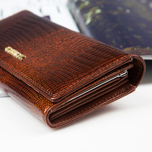 Womens Wallets and Purses Female Long European and American Style Genuine Leather Wallet Coin Purse Ladies Designer Wallet