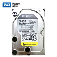 WD black disk 500GB internal hard disk 3.5 7200RPM SATA3 Game mechanical HDD 6Gb/s 500G HD hard disk for desktop computers