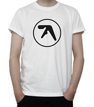 APHEX TWIN Geïnspireerd Logo T-SHIRT Elektronische MUZIEK Techno HARDCORE Windowlicker Zomer Men'S fashion Tee, Comfortabele t-shirt(China)