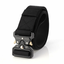 125cm long big size new nylon material mens belt military outdoor male jeans tactical Training belts for men luxury