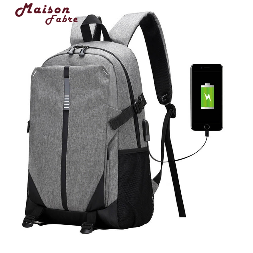 Canvas Men Backpack Cool 2017 High School Bags for Teenage Book Bag Boys girls USB Schoolbag Male Back pack Laptop 925 #30 *