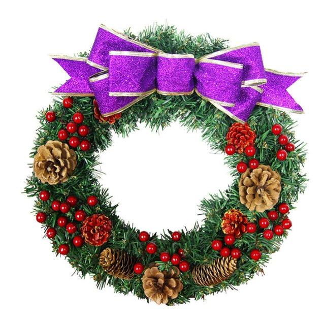 Christmas Decorations Door Hanging Wreath Tree Wall Decor Wreaths Ornaments