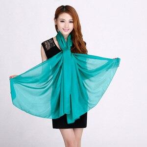 Image 3 - Bayanlar marka gri dut ipek eşarp şal 180*110cm büyük boy tasarım kadın eşarp sarar yaz güneşlik şal haki siyah