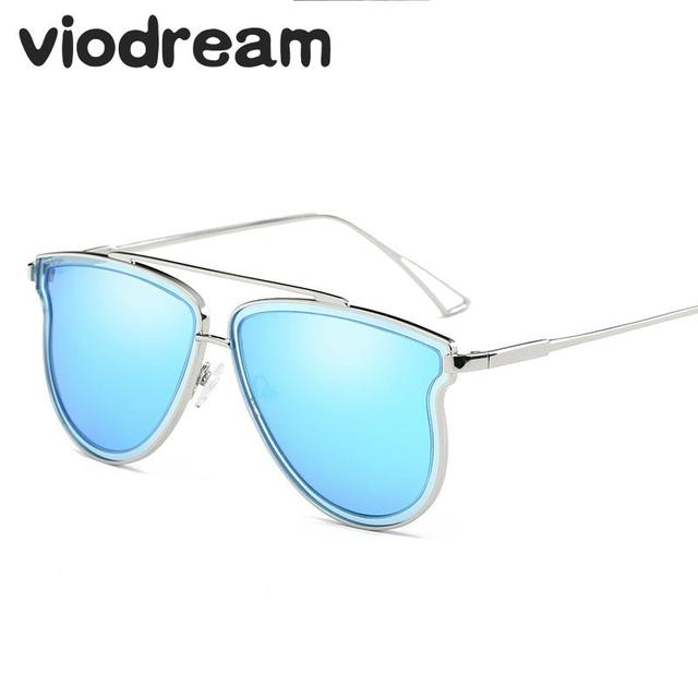 1eb37d91ce3 Viodream New Double polarizer lens Colorful Sunglasses Polarizing Mirror Sun  Glasses High Quality Women Fashion oculos