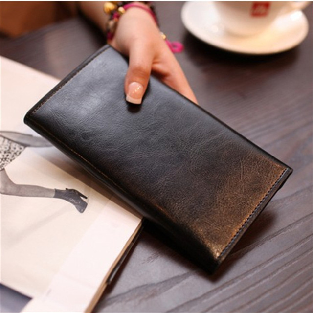 Long Magnetic Buckle Clutch  3