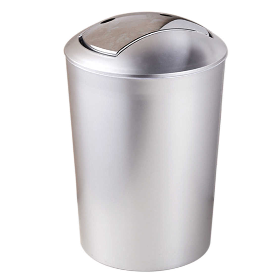 HIPSTEEN 10L European Style Garbage Can Plastic Trash Wastebin With Lid  Living Room Kitchen Trash Cans