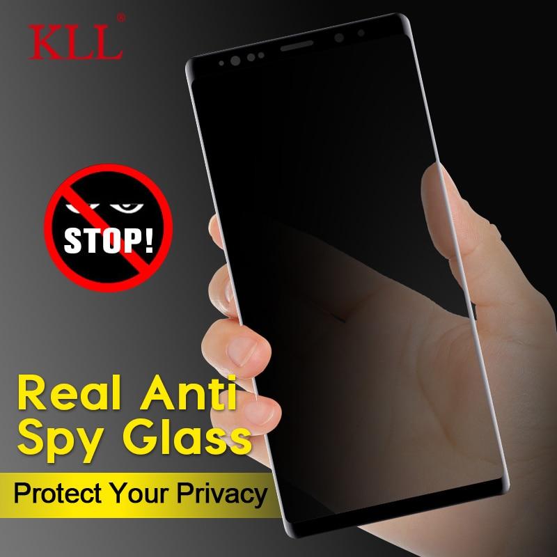 3D антишпионское закаленное стекло для samsung Galaxy S10 S9 S8 Plus S10e, Защитное стекло для Galaxy Note 10 9 8