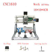 CNC 1610 GRBL Control Diy CNC Machine Working Area 16x10x4cm 3 Axis PCB PVC Milling Machine