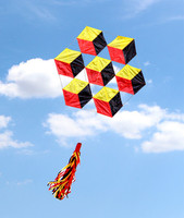 NEW ARRIVE 3D POWER DIAMOND KITE WITH STRING EASY TO FLY KITES