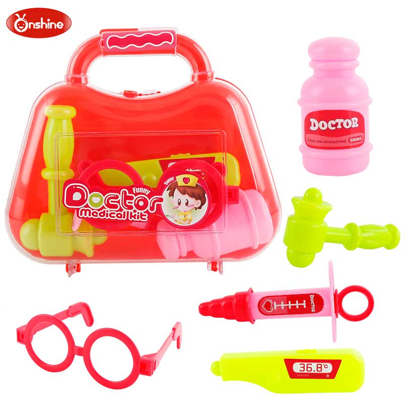 Kids Doctor Set Doctor Toys Play Set Children Play House Toys Medical Kits Classic Toys Simulation Medicine For baby