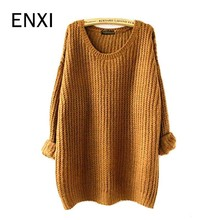 ENXI Maternity Clothing Spring Maternity Sweater Medium-long Spring Basic Sweater Outerwear Loose Autumn And Winter