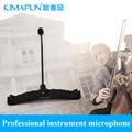 KIMAFUN микрофон инструмент CX510 для виолончели/контрабас Конденсаторный микрофон Мягкий Держатель 3 м кабель свободный корабль [пинг
