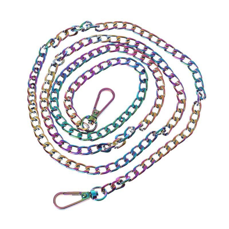 Fashion Metal Purse Chain Strap Handle Shoulder Crossbody Bag Handbag Replacement