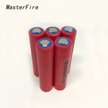 MasterFire 5pcs/lot New Genuine Sanyo 18650 NCR18650GA 3.7V 3500mAh Rechargeable Battery Lithium Batteries 10A Discharge 5pcs lot ka278ra05 278ra05 to 220f new