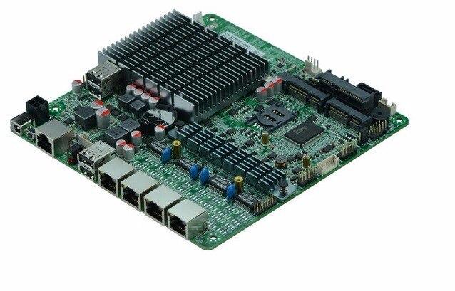 10PCS Fanless Mini ITX Motherboard Celeron J1900 with 4x 1000Mbps Intel Gigabit Ethernet ports Firewall Router Appliance Pfsense