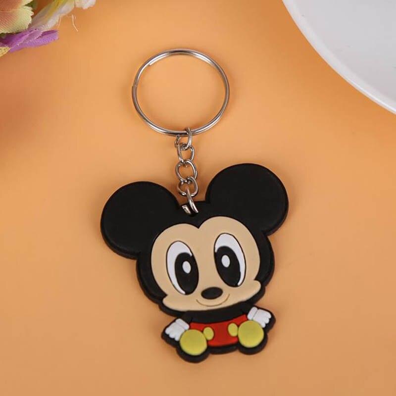 c68a5e51f Mini Size Anime Silicone Keychain For Woman Men Kids Bag Charm Key Chain  Holder Pendants Accessories porte clef marvel llavero ~ Top Deal June 2019
