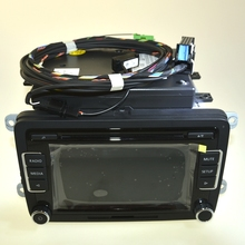 High quality RCD510 Car Radio Bluetooth MP3 AUX USB & Code For VW Jetta Golf MK5 MK6 Passat B6 Scirocco 5ND035190A 1K8035730D