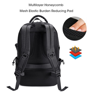 Image 4 - KALIDI Men Backpacks School 15 17 Inch Laptop Backpacks Travel Bags Multifunction Notebook Backpack 15.6 Bagpack USB Charging