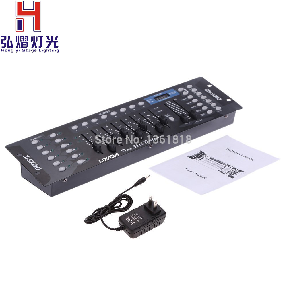 buy hong yi stage lighting new special 192 dmx controller stage lights dmx. Black Bedroom Furniture Sets. Home Design Ideas