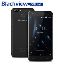 "Blackview A7 Pro Smartphone MT6737 Quad Core 5.0"" HD Screen 2GB RAM 16GB ROM Cellphone Dual Rear Camera Android 7.0 Mobile Phone"