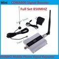 Melhor preço! nova GSM 850 MHZ CDMA 800 Telefone Móvel Impulsionador Singal Repetidores amplificador Com Display LCD Outdoor & Indoor Antena